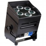 JB SYSTEMS ACCUCOLOR 10W RGBWA NEGRO