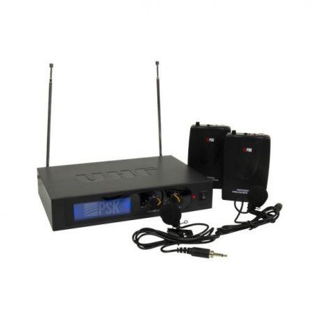PSK DOBLE MICROFONO PETACA VHF