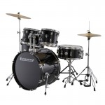 LUDWIG LC175 ACCENT DRIVE BLACK CORTEX