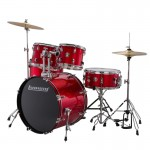 LUDWIG LC170 ACCENT FUSE RED FOIL