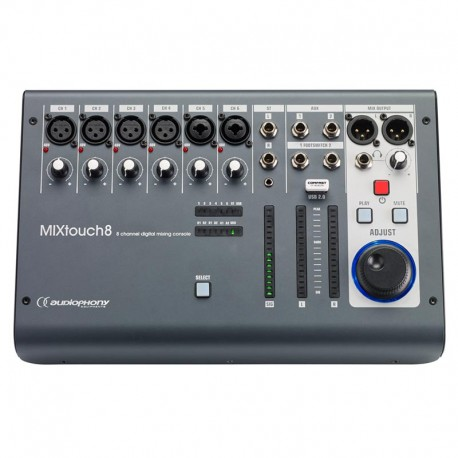AUDIOPHONY MIXTOUCH8