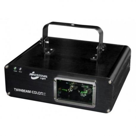 JB SYSTEMS TWIN BEAM COLOR LASER MK3