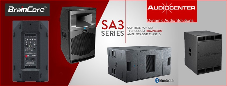 AUDIOCENTER SA3 SERIES